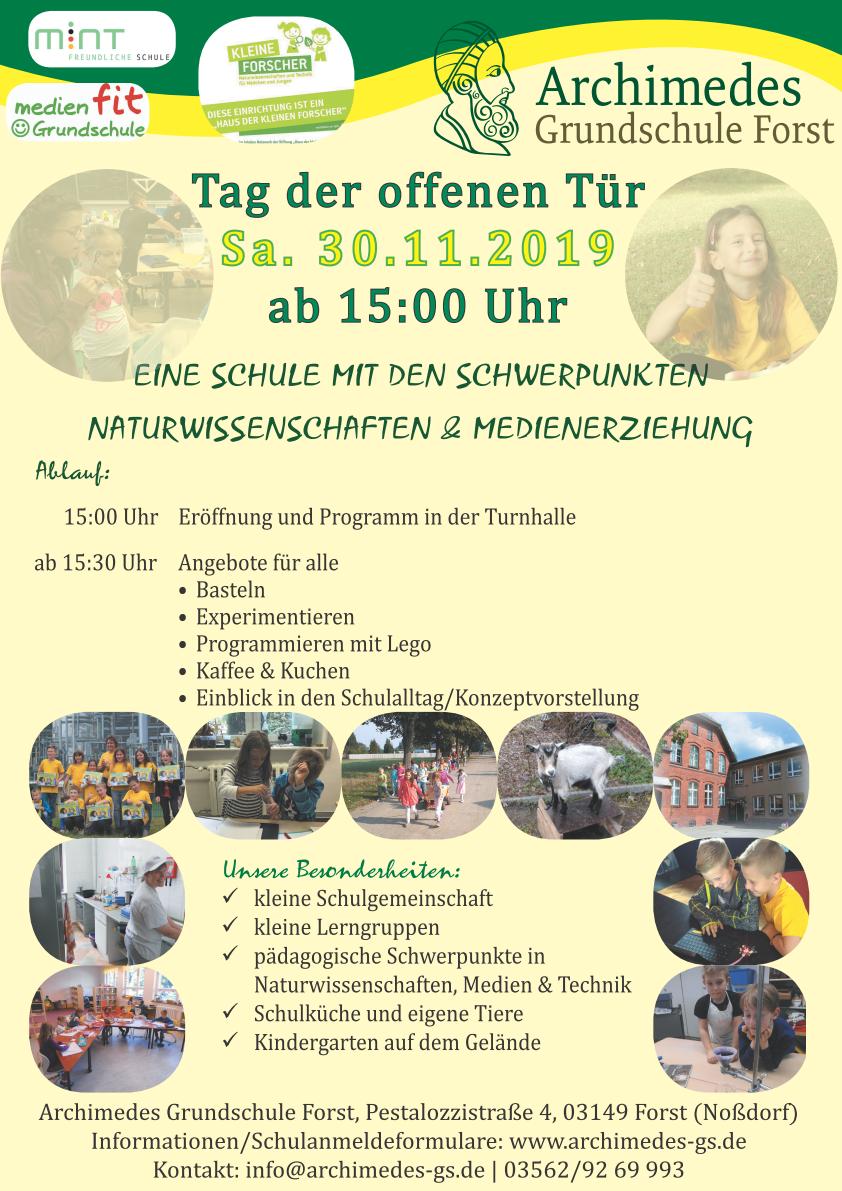 flyer-Schule